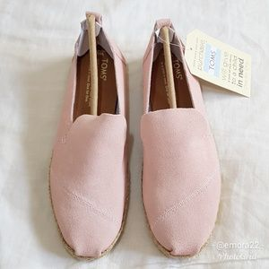 TOMS | Pale Pink Slip On Shoes